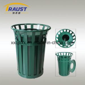 Экологически безопасные для использования вне помещений стальной мусорный ящик для продажи