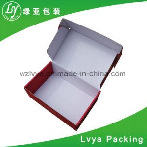 관례는 밀초를 바른 물결 모양 포장 판지 상자 화물 박스를 인쇄했다