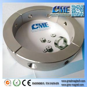 Arc магнит с утопленное отверстие магнит ГЕНЕРАТОРА ДВИГАТЕЛЬ магнита