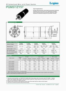 57mm Planetary Gear Box (PGM57ZY57)