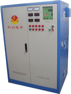 금속 열처리 100kw를 위한 수직 극초단파 주파수 감응작용 강하게 하는 기계