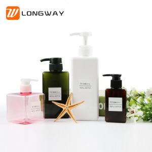 Shampoo Espuma Personalizado colorido de plástico do vaso de PETG com bomba de cosméticos