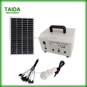 田園家の屋内のための携帯用太陽照明装置