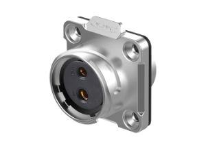 Cnlinko 2 Pinの金属のシェルのLED表示のための電気円の防水IP67電源コードのコネクター