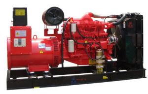 Doosan Электрический пуск дизельного двигателя Silent генераторной установки 250 квт
