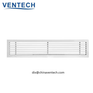 Traliewerk van de Staaf van de Lucht van de Terugkeer HVAC het Lineaire voor Gebruikte Ventilatie