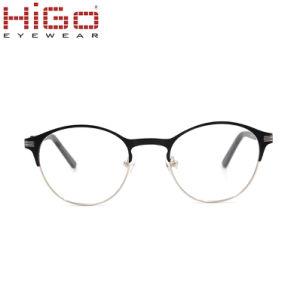 男女兼用贅沢な規定フレームの接眼レンズのステンレス鋼のばねのヒンジ