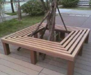 屋外の庭または公園の防水耐久の使用の穏かなベンチ(HK-XM18B3)