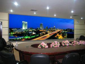 Interiores de alta definición P3, pantalla LED de color