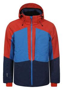À prova de inverno Teped Seam cubra os homens de denim casacos de Inverno jaqueta de esqui