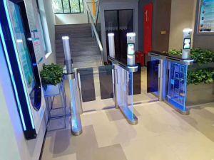 Control de acceso a Europa de la puerta barrera barrera automática barrera torniquete portón basculante abridor de puerta Puerta de entrada del aeropuerto de entrada de torniquete torniquete de giro