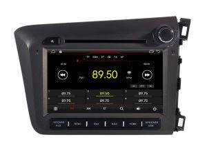 Четырехъядерные процессоры Witson Android 8.1 DVD GPS для гражданского Honda 2012 Правостороннее РУ внешний микрофон включен, встроенная функция СКДШ