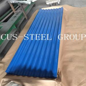 Il piatto di tetto del metallo di profilo di Colorbond dell'Cus-Acciaio/ha ondulato lo strato d'acciaio del tetto