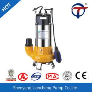 220V 380V d'eaux usées submersible électrique de pompe à eau avec interrupteur à flotteur