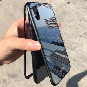 Casse Shockproof acriliche del telefono mobile di tecnologia dello specchio della fabbrica per il iPhone X