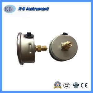 olio dell'acciaio inossidabile di alta qualità 4 - manometro riempito