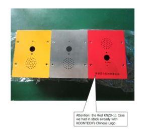 Надежные встроенные телефон Knzd-11 чрезвычайной СОС по телефону из нержавеющей стали