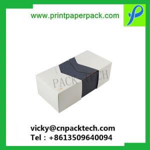 Het klantgerichte Vakje van het Document van het Karton van het Vakje van de Kleinhandels Verpakking van Ontwerpen, van Vormen & van de Grootte Verpakkende