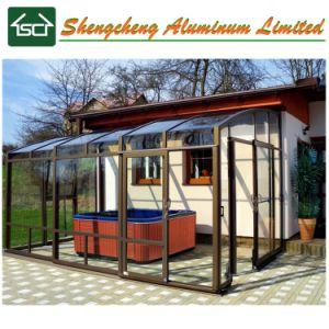 De Hot Tub Enclosure/SPA Dekking van de Pool met de Structuur van het Aluminium