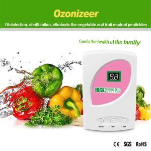 Microcomputador gerador de ozono a desinfecção dos itens alimentares