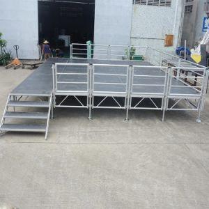 Im Freien bewegliches Aluminiumlegierung-bewegliches hölzernes Stadium