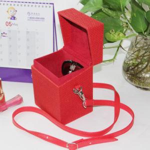 [رد كلور] [بو] جلد مجوهرات يعبّئ صندوق مجوهرات [ستورج بوإكس]