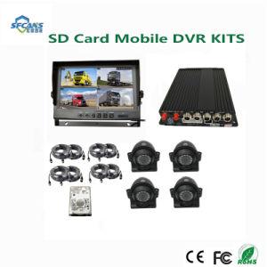 H. 264 погрузчика 4 канал SD автомобиль Mobile DVR комплекты