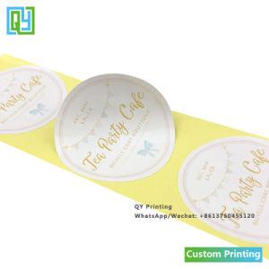 Custom печать чай торт трубы уплотнение упаковки этикетки