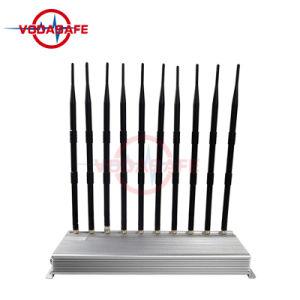 10 هوائي جهاز تشويش/معوّق لأنّ [سلّفون] /Wi-Fi/ [أوهف/فهف] [ولكي-تلكي]; 10 نطاق إشارة جهاز تشويش /Blocker تغطية شعاع [10-40م]
