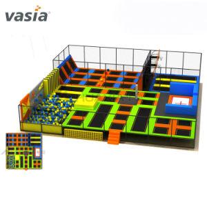 Les enfants personnalisés Dodgeball gymnastique intérieure y compris guerrier ninja Bungee Trampoline