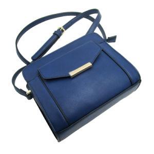 Fabrication en usine de Guangzhou PU Lady Style simple sac sac à bandoulière Sac Crossbody de gros