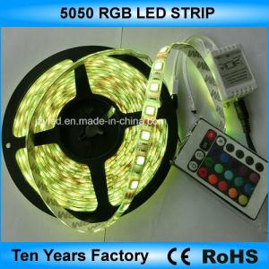 Indicatore luminoso di RGB della striscia di alta qualità SMD 5050 LED