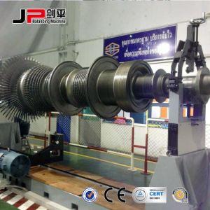 Горизонтальная машина для балансировки привода со стороны большой роторов