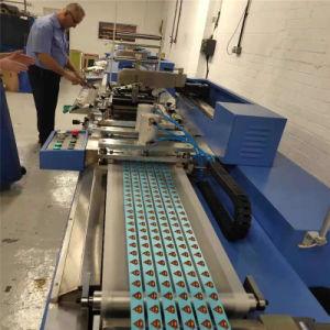 PLC를 가진 기계를 인쇄하는 실크 스크린이 고속 의복에 의하여 레테르를 붙인다