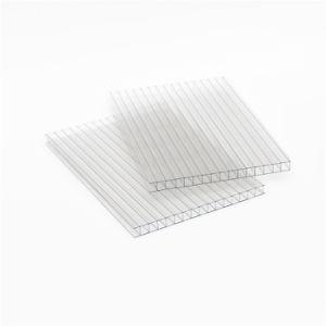 Lexan de material plástico transparente de los paneles de policarbonato de color