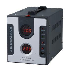 Visor digital tipo relé do regulador de estabilizador de tensão automático com USB