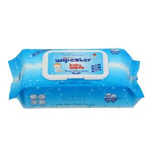 La tela sin tejer especial Super Soft agua pura 100% degradables bebé preferido de desinfección de fibra de bambú de barrido húmedo