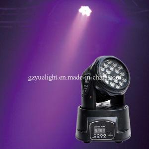 Cheap 1W 18PCS LED Mini Moving Head