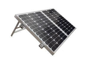80W Складная солнечная панель с Андерсон пробку для кемпинга