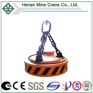 Grúa Steel Scrap Magnet para Handling Scrapped Steels
