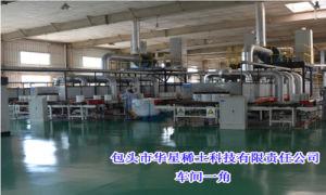 Elevata purezza 99.99% di produzione magra di Huaxing dell'ossido del cerio per la terra rara colorata vetro 1306-38-3 dello smalto