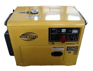 6.5-7KVA Tipo Silenciar Grupo Gerador Diesel Portátil
