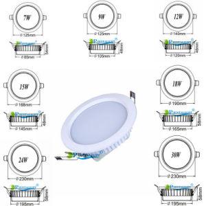 15W Samsung Epistar 5 LEIDENE van Dimmable SMD van de Duim Downlight