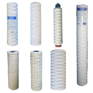 Cartuccia di filtro dall'acqua della ferita della stringa dei pp 10  &20 , 30 , 40