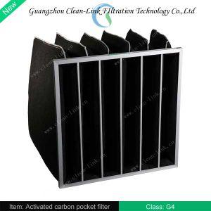 De geactiveerde Filter van de Koolstof van de Filter van de Lucht van de Filter van de Zak van de Koolstof