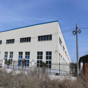 電気圧延のドアが付いている鉄骨フレームの倉庫