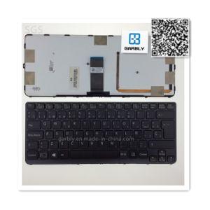 소니 Sve14AA12t Sve14A18ec Ve14A16ec를 위한 Sp Laptop Notebook Keyboard