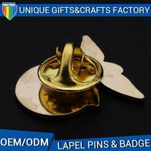 Disco rígido de imitação de metal personalizado crachá do esmalte Pin de lapela de liga de zinco