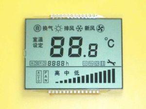 LCDのモジュールFSTNの表示LCD