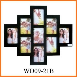 Деревянная рамка фотоего коллажа (WD09-21B)